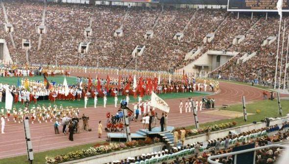 Открытие Олимпиады-80, 1980 год. Изображение № 6.