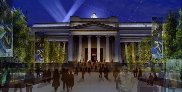Пушкинский музей: Проект реконструкции. Изображение № 12.
