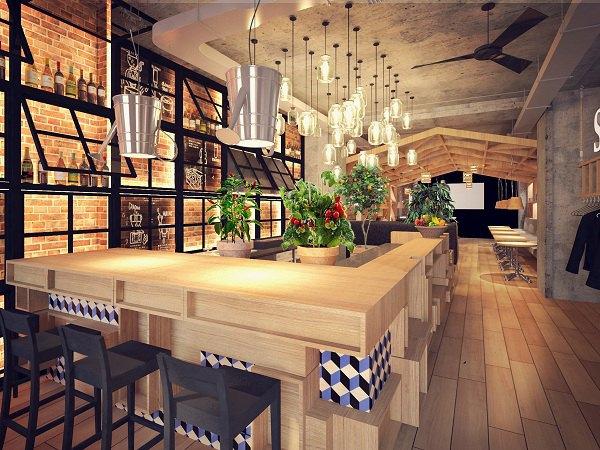 На Адмиралтейском откроется первый ресторан сети «Оливье». Изображение №1.