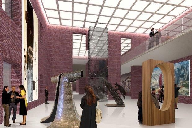 Новые художественные галереи в Адмиралтействе. Изображение № 21.