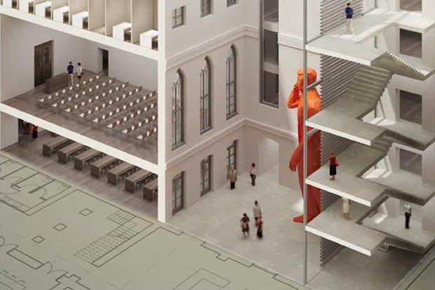 Проект недели: Как перестроят Европейский университет. Изображение № 3.