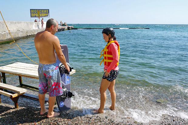 На воде: Виндсёрфинг, вейкбординг и дайвинг в Одессе. Зображення № 33.