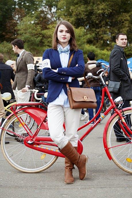 Твид выходного дня: Участники ретрокруиза — о своей одежде и велосипедах. Зображення № 19.