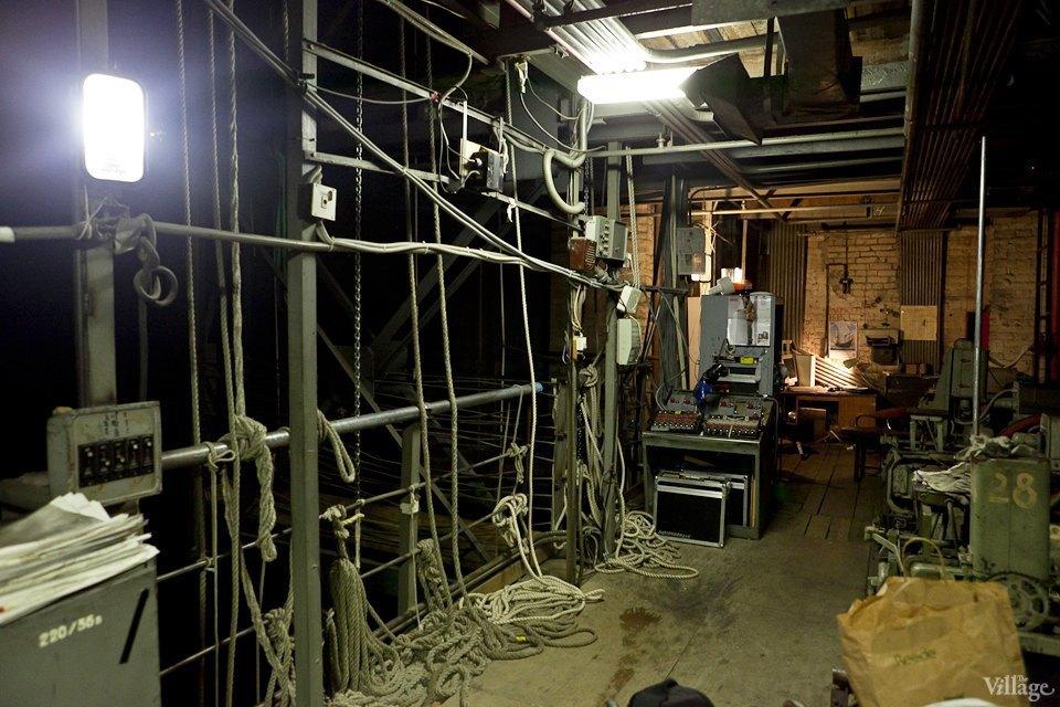 Фоторепортаж: Вторая сцена Мариинского театра изнутри. Изображение № 42.