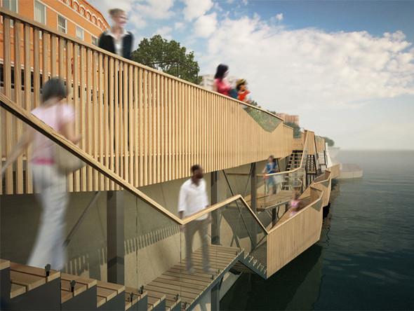 В Москве предложили построить деревянные набережные. Изображение № 3.