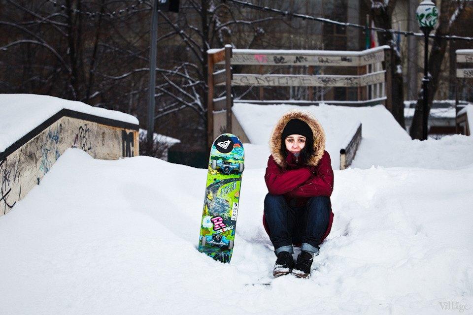 Люди в городе: Где катаются скейтеры зимой. Изображение № 3.