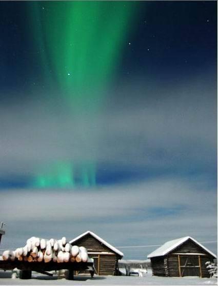 Изображение 24. Солнечный ветер. Несколько мест для любителей наблюдать полярное сияние из своего окошка.. Изображение № 11.