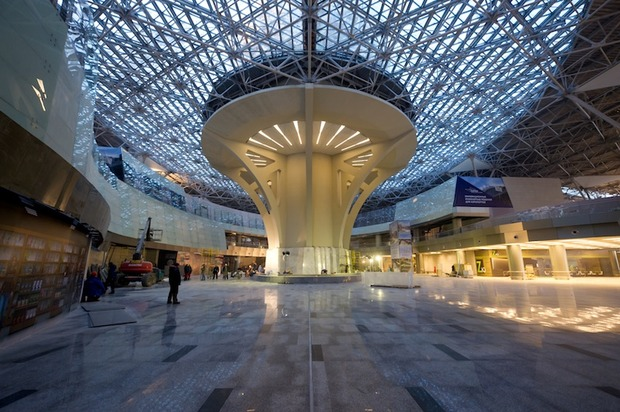 Во Внукове открылась вторая очередь нового терминала. Изображение № 3.