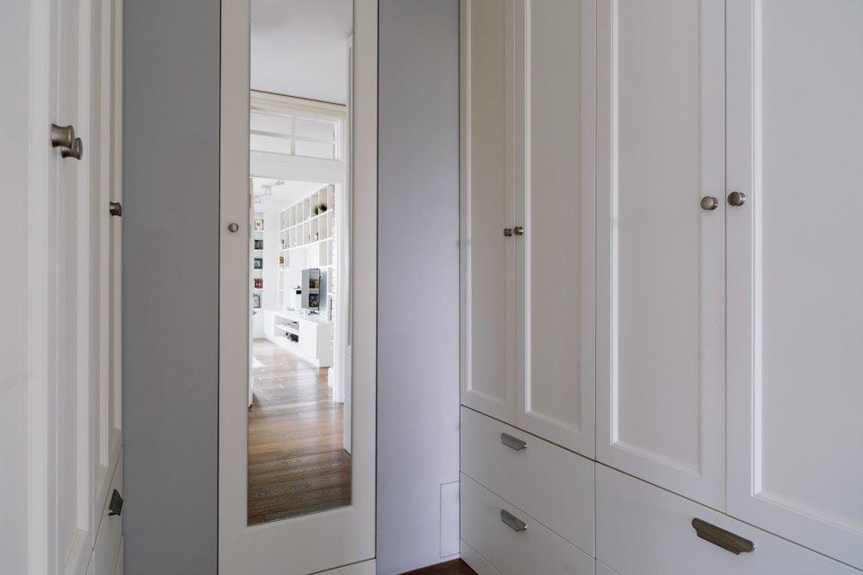 Четырёкомнатная квартира в американском стиле для семьи сдвумя детьми. Изображение № 23.
