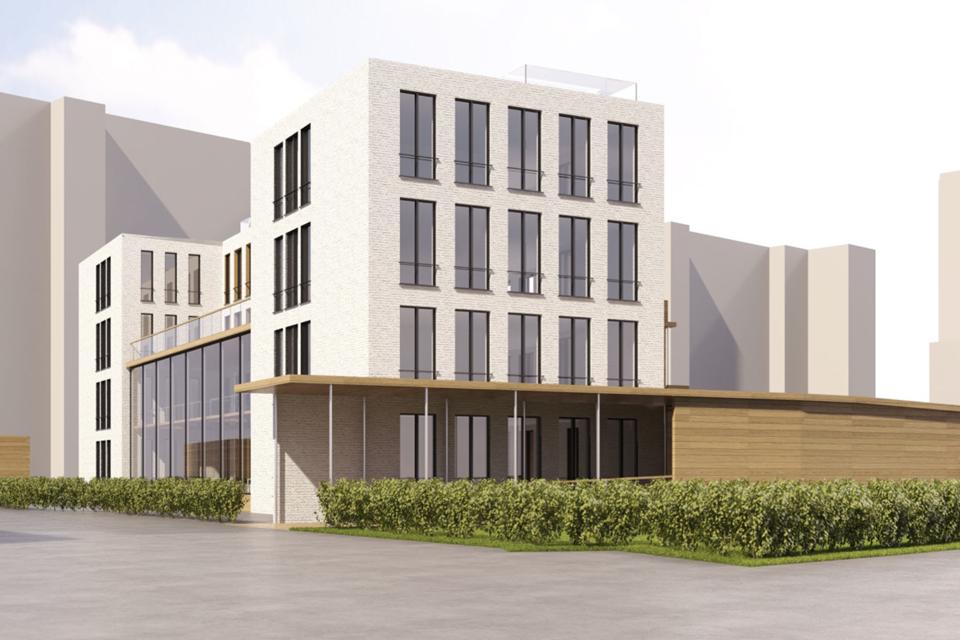 Проект реконструкции существующего здания для детского фонда и хосписа «Вера». Изображение № 20.