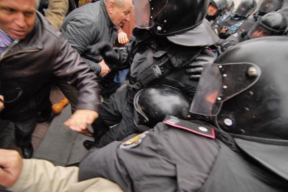 Copwatch: Действия милиции на акции «Вперёд!» возле Верховной рады. Изображение № 14.