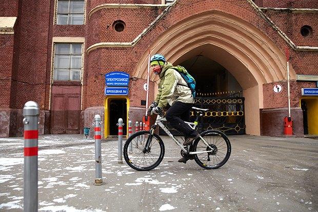 В диких условиях: Велосипед против автомобиля в –10 ˚C. Изображение № 2.