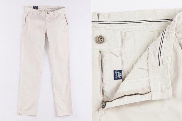 7 пар светлых мужских брюк. Изображение № 3.
