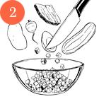 Рецепты шефов: Окрошка с олениной на имбирном квасе. Изображение №4.