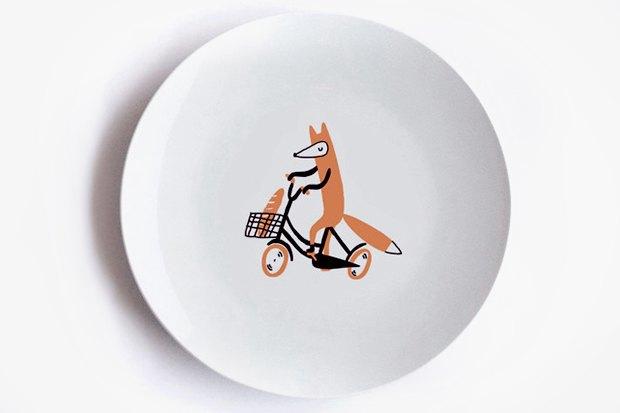 Тарелка с лисой, 800 р.. Изображение № 15.