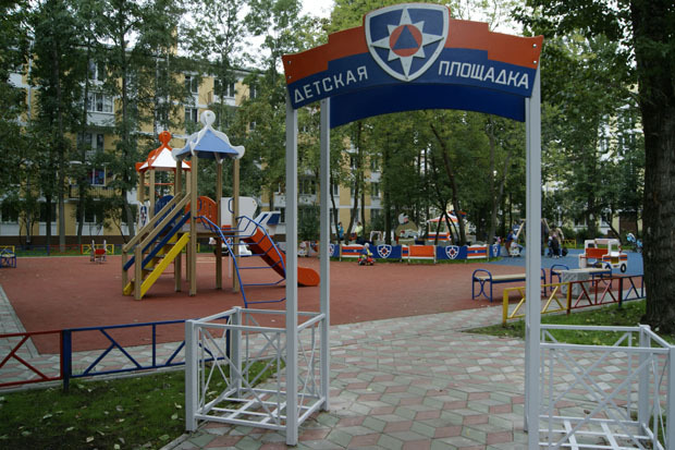 МЧС установило в городе 35 стилизованных детских площадок. Изображение № 1.
