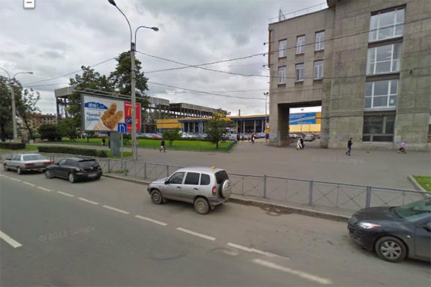 Территория вокруг Балтийского вокзала сейчас. Изображение № 6.