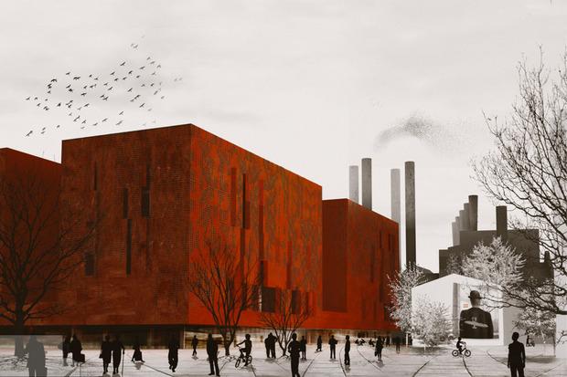 Что делать с электростанцией на Балчуге: 5 проектов студентов МАРХИ. Изображение №9.