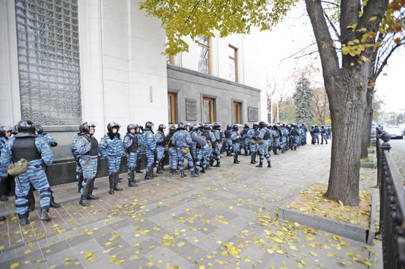 Copwatch: Действия милиции на акции «Вперёд!» возле Верховной рады. Изображение № 6.