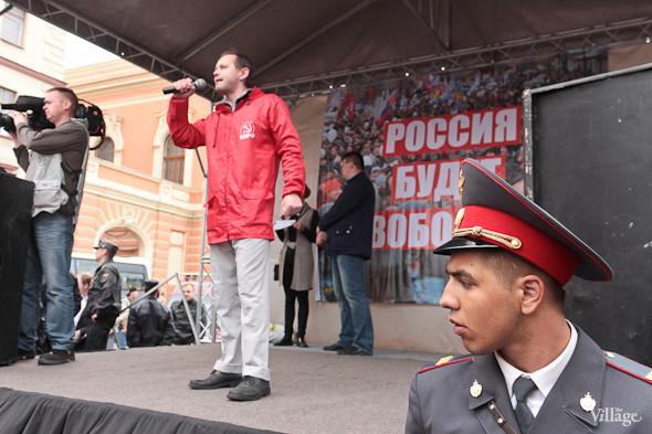 Фоторепортаж (Петербург): Митинг и шествие оппозиции в День России . Изображение № 26.