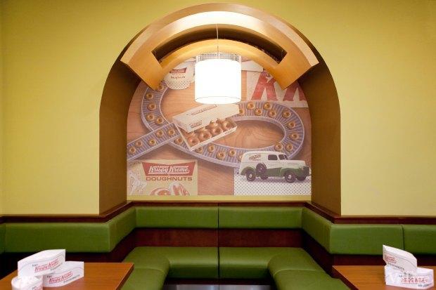 Пончиковая Krispy Kreme. Изображение № 7.