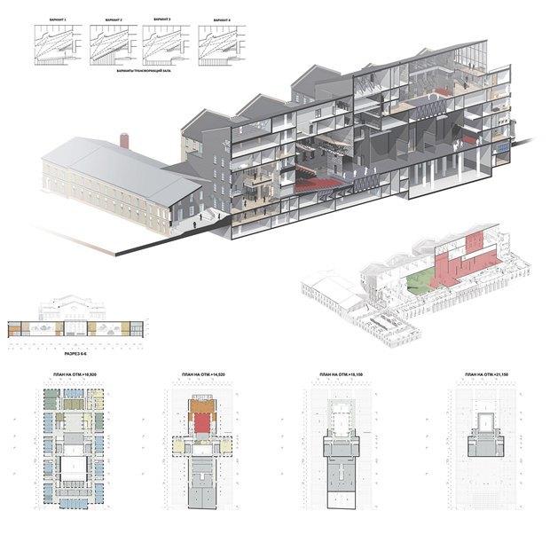 Определены сроки истоимость строительства «Театра Европы». Изображение № 8.