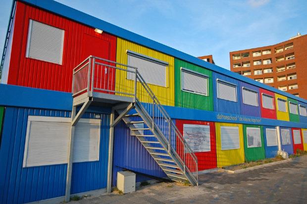 Студенческие общежития из контейнеров в Голландии. Изображение № 12.