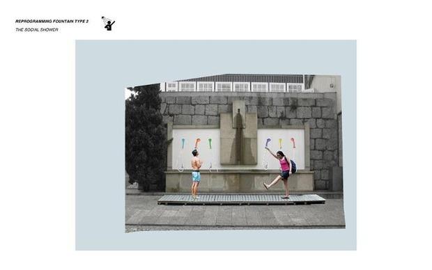 Идеи для города: Общественные бассейны в фонтанах. Изображение № 7.