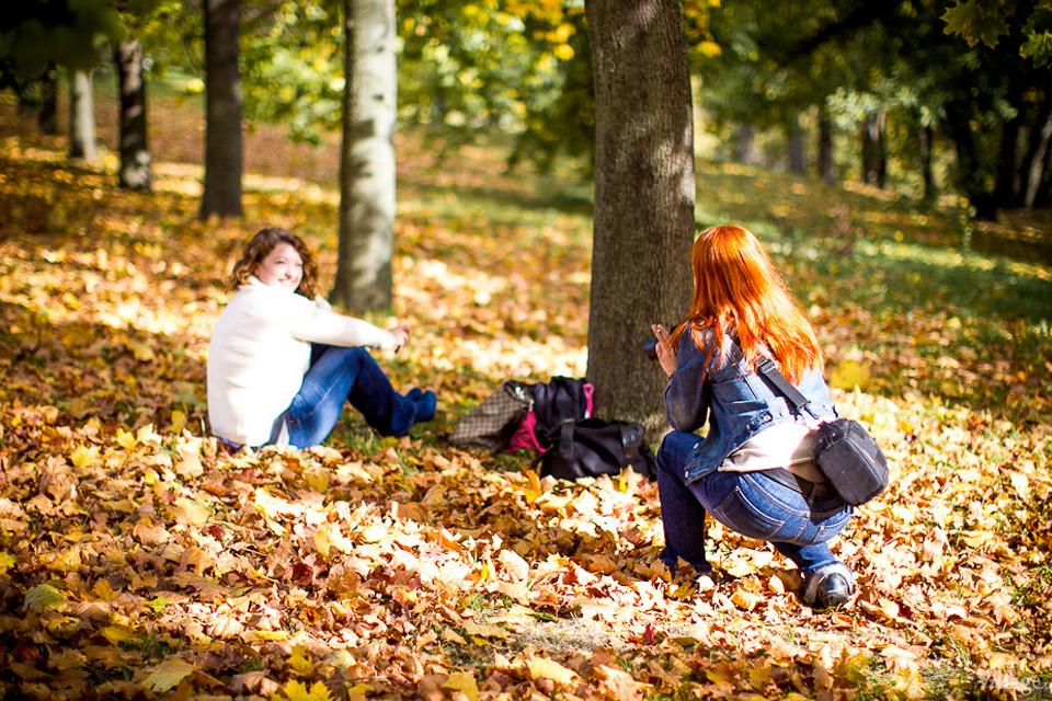Люди в городе: Любительские фотосессии в парке. Изображение №10.