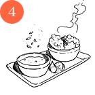 Пончики из креветок с соусом ремулад Сержа Труто. Изображение № 5.