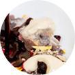 Omnivore Food Festival: Иван Березуцкий готовит суп из черноплодной рябины и нутрию в бересте. Изображение № 38.