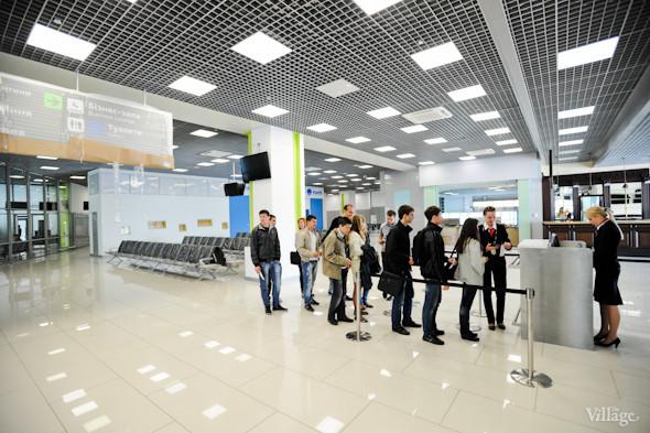 Фоторепортаж: Новый терминал аэропорта Киев — за день до открытия. Зображення № 37.