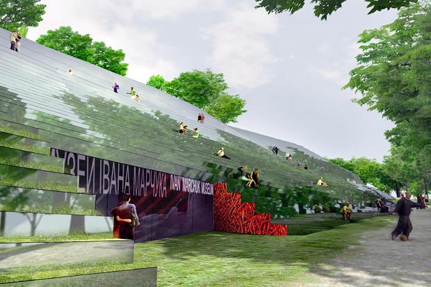 На бумаге: 8 нереализованных архитектурных проектов в Киеве. Зображення № 15.