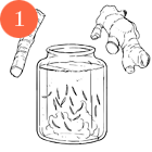Рецепты шефов: Окрошка с олениной на имбирном квасе. Изображение №3.