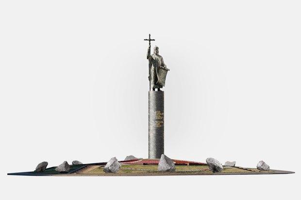 Видишь, там, нагоре, возвышается крест: Зачем Москве памятник князю Владимиру. Изображение № 6.