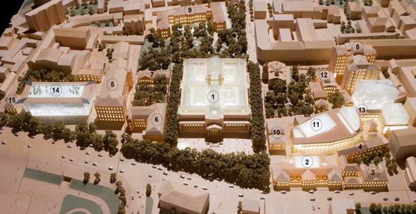 Пушкинский музей: Проект реконструкции. Изображение № 10.
