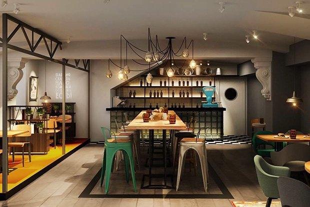 Второе кафе The Burger Brothers, онлайн-кондитерская Markus Pastry, кофейня кооператива «Чёрный». Изображение № 7.