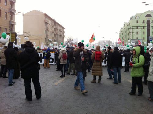 Онлайн-трансляция: Шествие и митинг «За честные выборы». Изображение № 73.