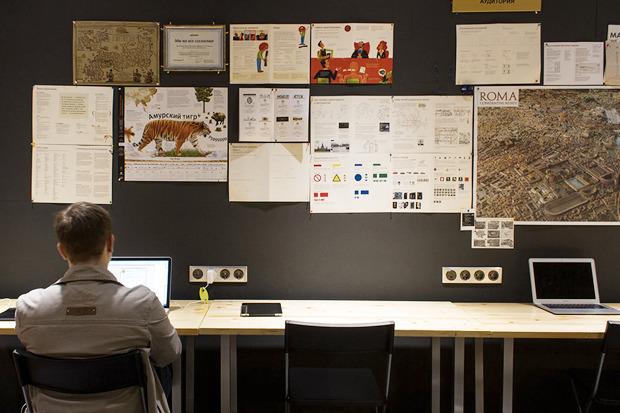 Дизайн-бюро Артёма Горбунова открыло коворкинг. Изображение № 1.