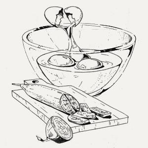Завтраки дома: Омлет счоризо изUDC. Изображение № 3.