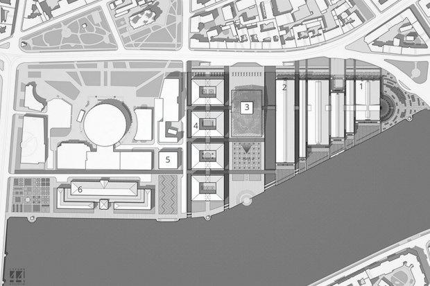 Суд идёт: четыре проекта квартала на месте «Набережной Европы». Изображение №24.