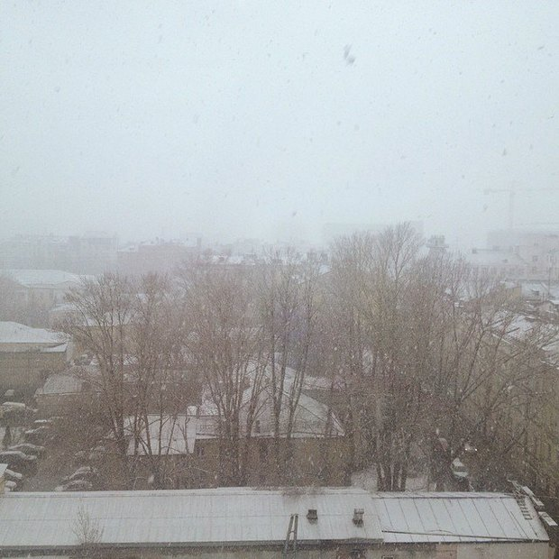 Снегопад вМоскве. Изображение № 1.