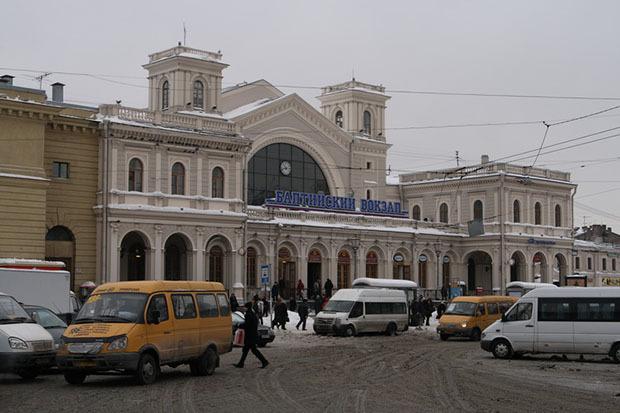 Территория вокруг Балтийского вокзала сейчас. Изображение № 4.