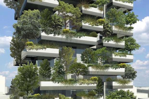 Идеи для города: Вертикальный лес вцентре Милана. Изображение №4.