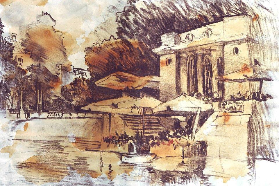 Клуб рисовальщиков: Патриаршие пруды. Изображение № 5.