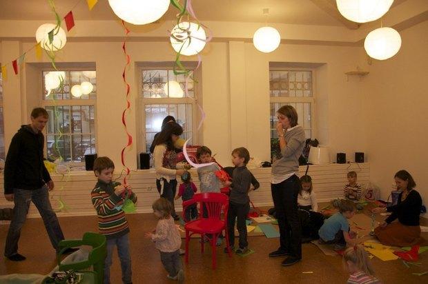 В Петербурге открылся коворкинг для родителей с детьми. Изображение № 2.