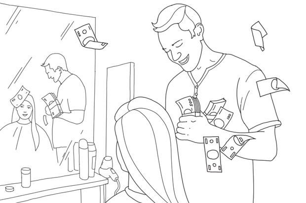 Как всё устроено: Работа парикмахера. Изображение №1.