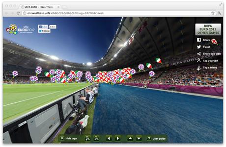 УЕФА предлагает отметить себя на интерактивной фотографии с Евро-2012. Изображение № 1.