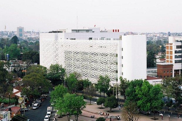 Иностранный опыт: Как фасад здания очищает воздух в Мехико. Изображение № 2.