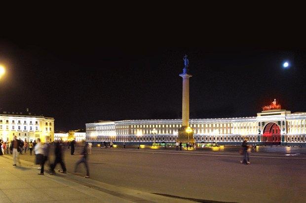 На ночь глядя: 12 проектов подсветки Главного штаба. Изображение № 83.